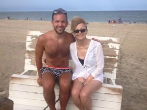 Me and Ryan at Beach