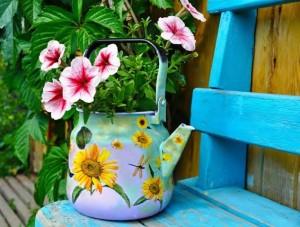 teapot flowerpot